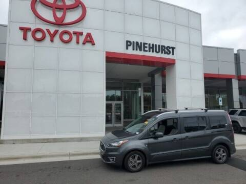 2019 Ford Transit Connect Wagon for sale at PHIL SMITH AUTOMOTIVE GROUP - Pinehurst Toyota Hyundai in Southern Pines NC