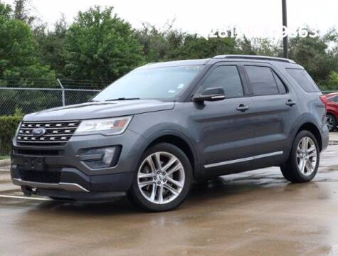 2016 Ford Explorer for sale at BIG STAR HYUNDAI in Houston TX