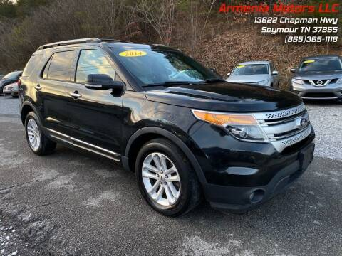 2014 Ford Explorer for sale at Armenia Motors in Seymour TN