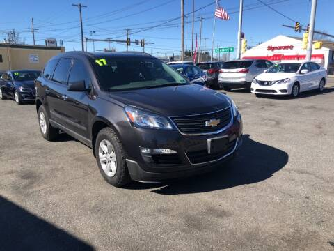 2017 Chevrolet Traverse for sale at Sharon Hill Auto Sales LLC in Sharon Hill PA