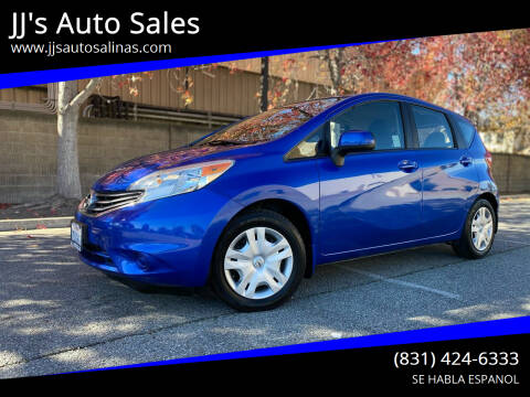 2014 Nissan Versa Note for sale at JJ's Auto Sales in Salinas CA