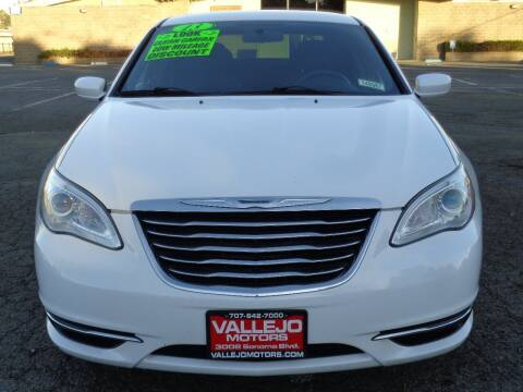 2013 Chrysler 200 for sale at Vallejo Motors in Vallejo CA