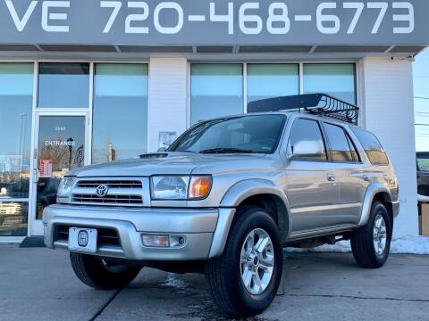 2000 Toyota 4Runner for sale at Shift Automotive in Denver CO