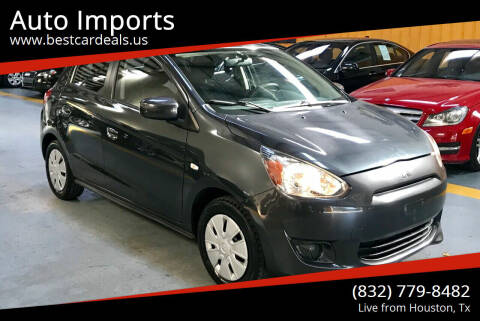 2015 Mitsubishi Mirage for sale at Auto Imports in Houston TX