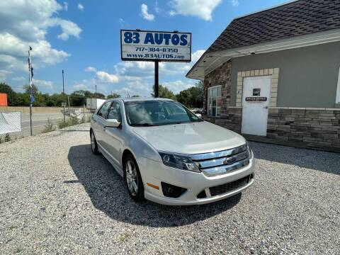 2010 Ford Fusion for sale at 83 Autos in York PA