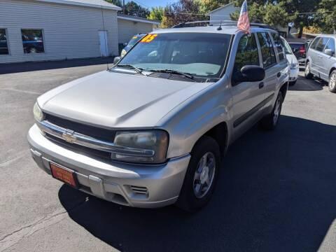 2005 Chevrolet TrailBlazer for sale at Progressive Auto Sales in Twin Falls ID