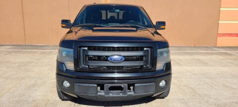2013 Ford F-150 for sale at ALL STAR MOTORS INC in Houston TX