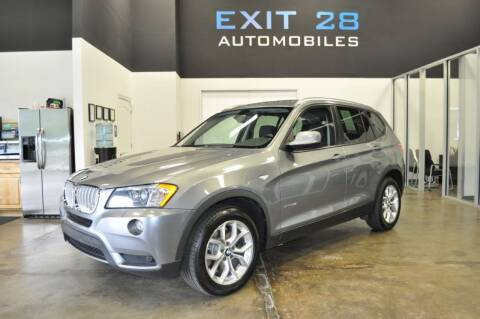 2013 BMW X3 for sale at Exit 28 Auto Center LLC in Cornelius NC