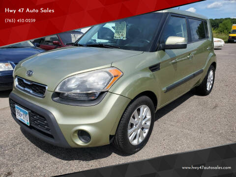 2012 Kia Soul for sale at Hwy 47 Auto Sales in Saint Francis MN