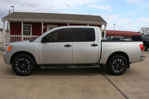 2010 Nissan Titan for sale at AMT AUTO SALES LLC in Houston TX