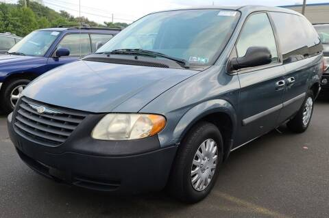 2006 Chrysler Town and Country for sale at Angelo's Auto Sales in Lowellville OH