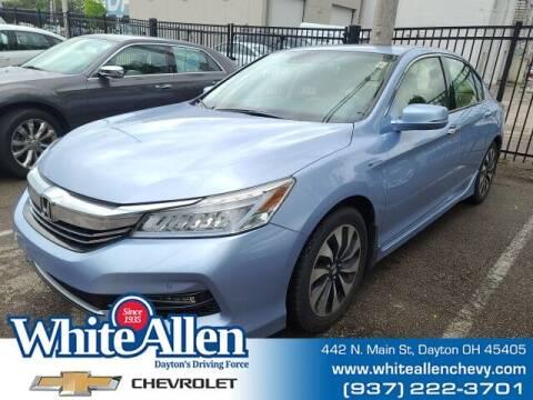 2017 Honda Accord Hybrid for sale at WHITE-ALLEN CHEVROLET in Dayton OH