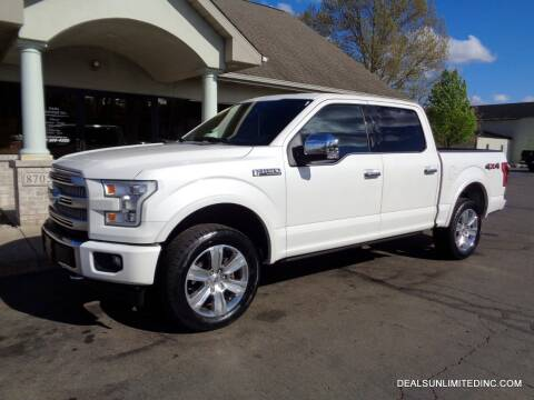 2015 Ford F-150 for sale at DEALS UNLIMITED INC in Portage MI