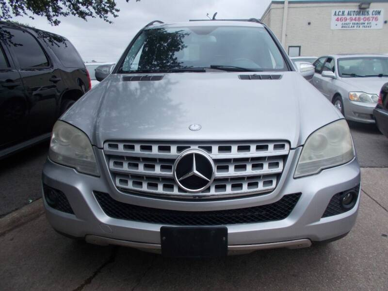 2009 Mercedes-Benz M-Class for sale at ACH AutoHaus in Dallas TX