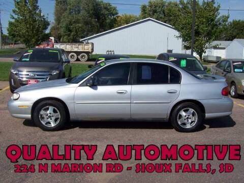 2004 Chevrolet Classic for sale at Quality Automotive in Sioux Falls SD