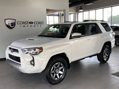 2021 Toyota 4Runner for sale at Coast to Coast Imports in Fishers IN