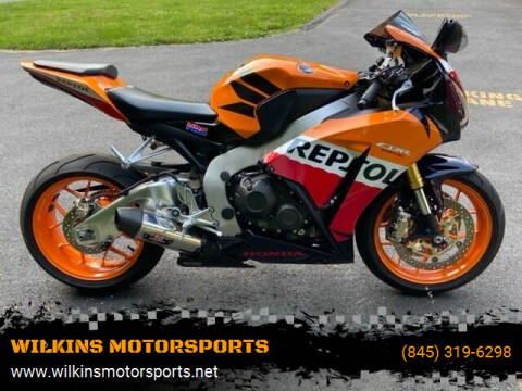 2013 Honda CBR1000RR for sale at WILKINS MOTORSPORTS in Brewster NY