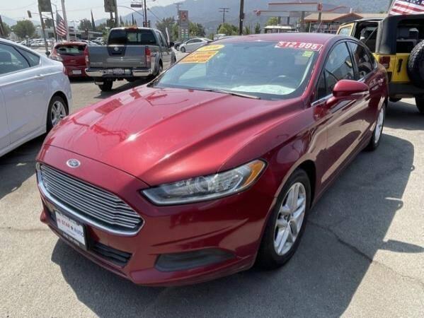2016 Ford Fusion for sale at CAR CITY SALES in La Crescenta CA