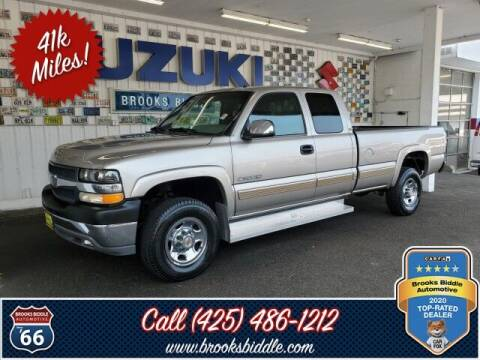 2001 Chevrolet Silverado 2500HD for sale at BROOKS BIDDLE AUTOMOTIVE in Bothell WA