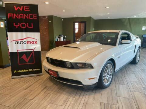 2010 Ford Mustang for sale at AutoMax in West Hartford CT