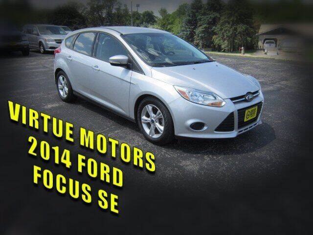 2014 Ford Focus for sale at Virtue Motors Used in Darlington WI