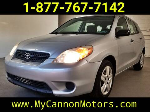 2008 Toyota Matrix for sale at Cannon Motors in Silverdale PA