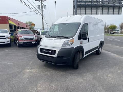 2019 RAM ProMaster Cargo for sale at CARMART Of New Castle in New Castle DE