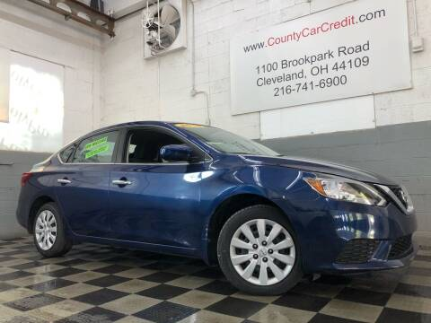 2018 Nissan Sentra for sale at County Car Credit in Cleveland OH