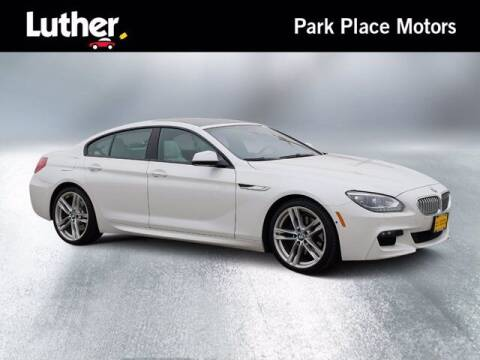 2015 BMW 6 Series for sale at Park Place Motor Cars in Rochester MN