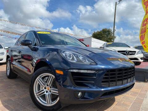 2016 Porsche Macan for sale at Cars of Tampa in Tampa FL
