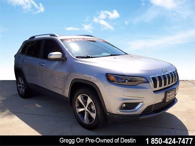 2020 Jeep Cherokee for sale at Gregg Orr Pre-Owned of Destin in Destin FL