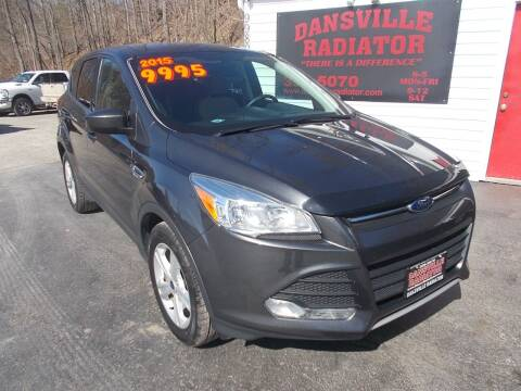 2015 Ford Escape for sale at Dansville Radiator in Dansville NY