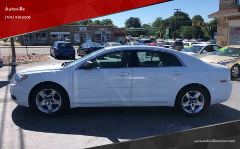 2012 Chevrolet Malibu for sale at Autoville in Kannapolis NC