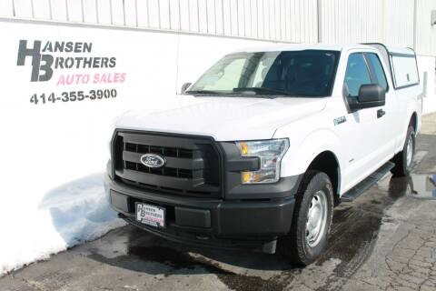 2017 Ford F-150 for sale at HANSEN BROTHERS AUTO SALES in Milwaukee WI