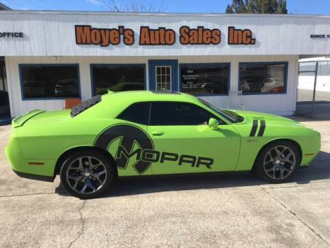 2015 Dodge Challenger for sale at Moye's Auto Sales Inc. in Leesburg FL