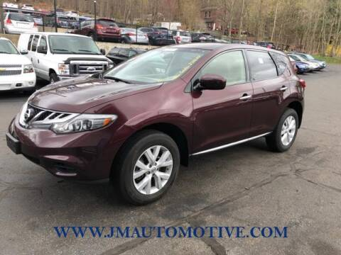 2013 Nissan Murano for sale at J & M Automotive in Naugatuck CT