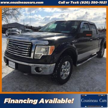 2012 Ford F-150 for sale at CousineauCars.com in Appleton WI