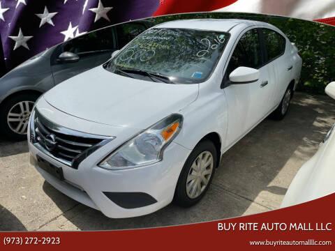 2016 Nissan Versa for sale at BUY RITE AUTO MALL LLC in Garfield NJ
