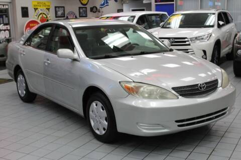 2003 Toyota Camry for sale at Windy City Motors in Chicago IL