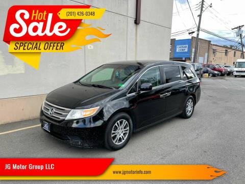2012 Honda Odyssey for sale at JG Motor Group LLC in Hasbrouck Heights NJ