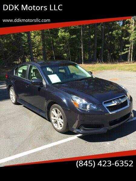 2014 Subaru Legacy for sale at DDK Motors LLC in Rock Hill NY
