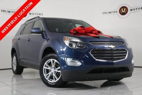 2016 Chevrolet Equinox for sale at INDY'S UNLIMITED MOTORS - UNLIMITED MOTORS in Westfield IN
