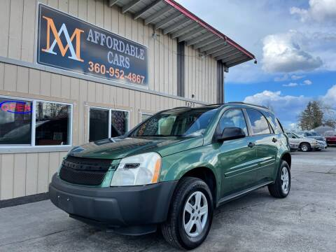 2005 Chevrolet Equinox for sale at M & A Affordable Cars in Vancouver WA