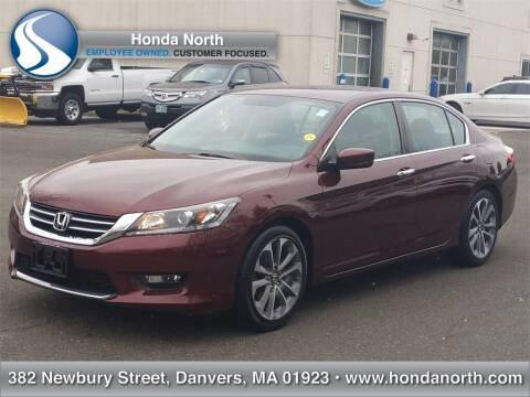2014 Honda Accord for sale at 1 North Preowned in Danvers MA