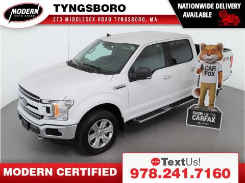 2019 Ford F-150 for sale at Modern Auto Sales in Tyngsboro MA