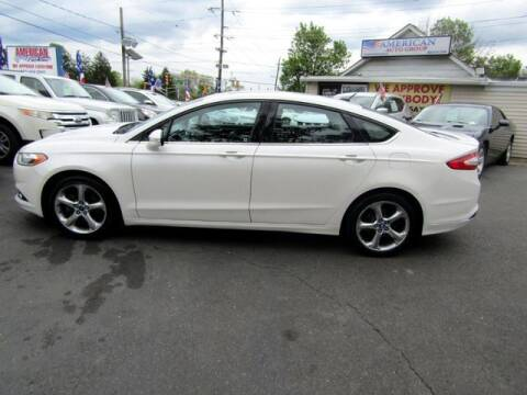2013 Ford Fusion for sale at American Auto Group Now in Maple Shade NJ