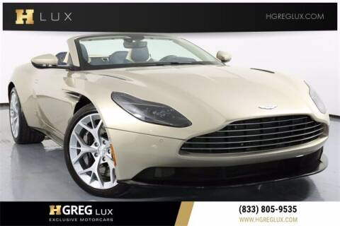 2019 Aston Martin DB11 for sale at HGREG LUX EXCLUSIVE MOTORCARS in Pompano Beach FL