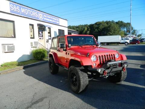 2015 Jeep Wrangler for sale at S & S Motors in Marietta GA