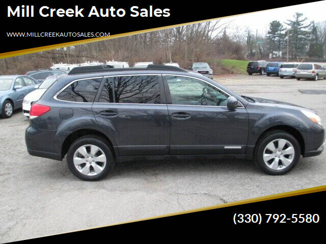 2010 Subaru Outback for sale at Mill Creek Auto Sales in Youngstown OH