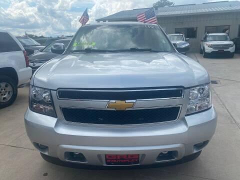 2013 Chevrolet Tahoe for sale at GRG Auto Plex in Houston TX